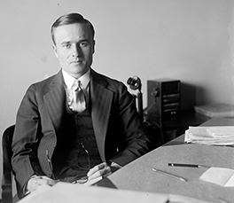 Northcutt Ely in 1929, Department of the Interior and co-author of the Hoover Dam Documents